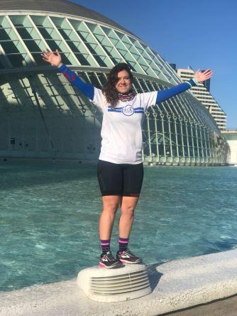 Sandra 1/2 maraton Valencia